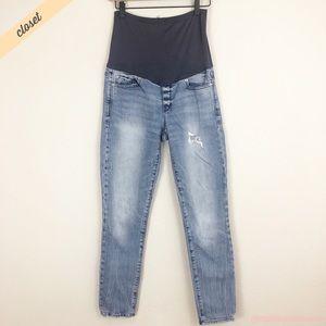 [GAP] Light Wash Distressed Always Skinny Jeans